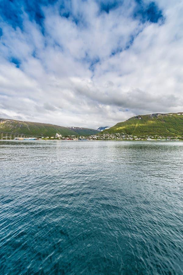 Download Porto di Tromso, Norvegia fotografia stock. Immagine di porta - 55362260