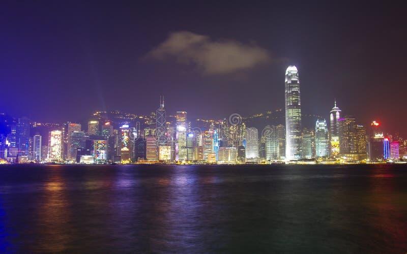 Porto di Victoria a Hong Kong immagini stock libere da diritti