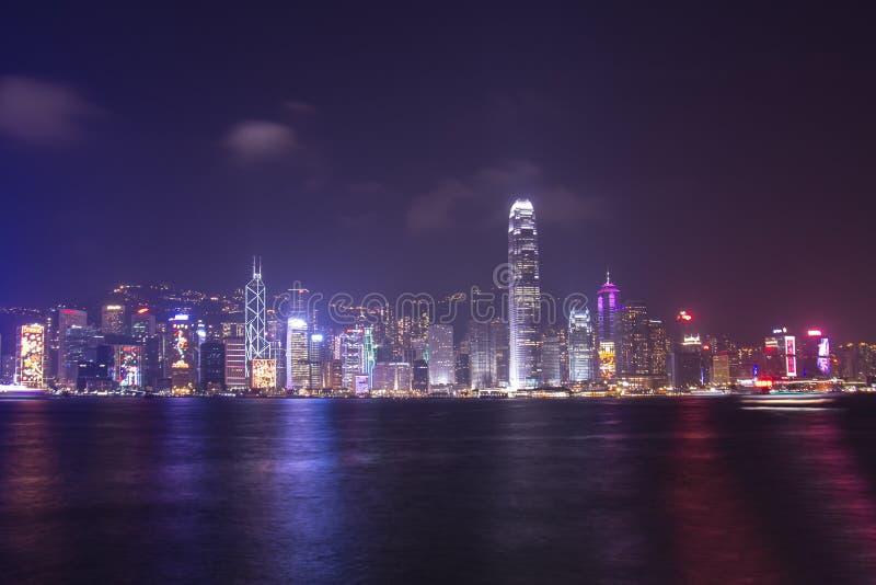 Porto di Victoria a Hong Kong fotografie stock libere da diritti