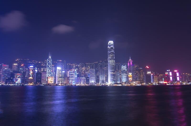 Porto di Victoria a Hong Kong fotografie stock