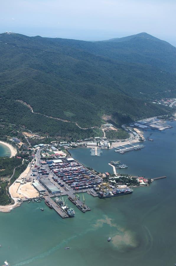 Porto do  àNẵng de Ä imagem de stock royalty free