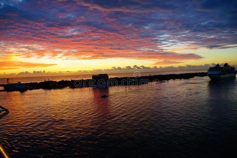 Porto do Fort Lauderdale foto de stock