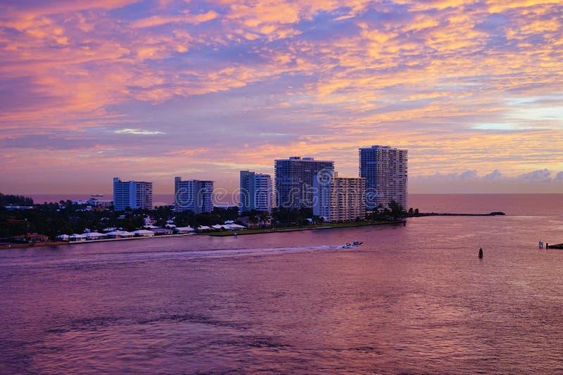 Porto do Fort Lauderdale imagens de stock royalty free