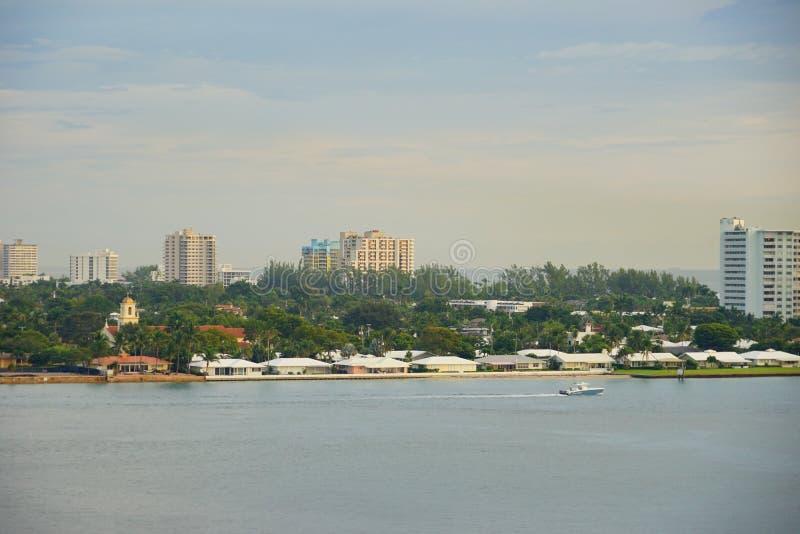 Porto do Fort Lauderdale imagem de stock