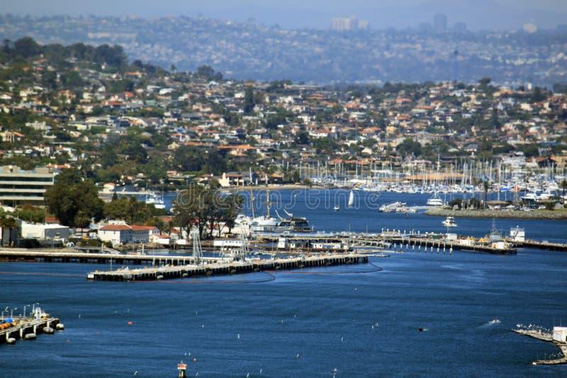 Porto do louro de San Diego imagens de stock royalty free