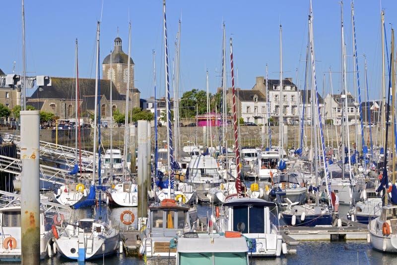 Porto do Piriac-sur-Mer em França imagens de stock royalty free