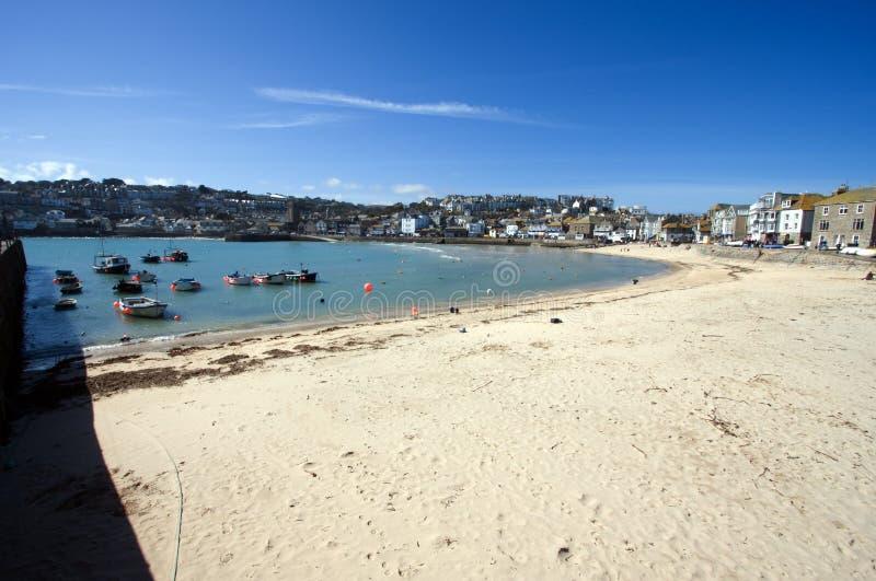 Porto do St Ives foto de stock
