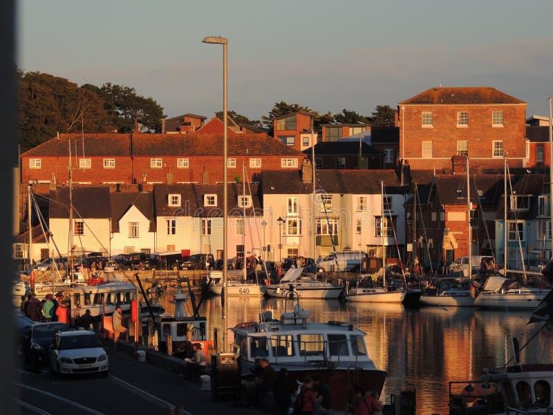 Porto Dorset de Weymouth fotografia de stock