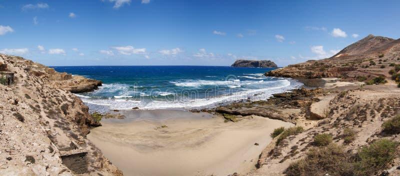 Porto Dos Frades en Serra de Fora-strand. stock foto