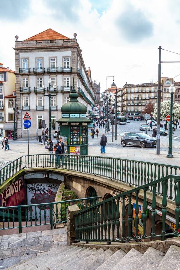 Porto du centre, Portugal image stock