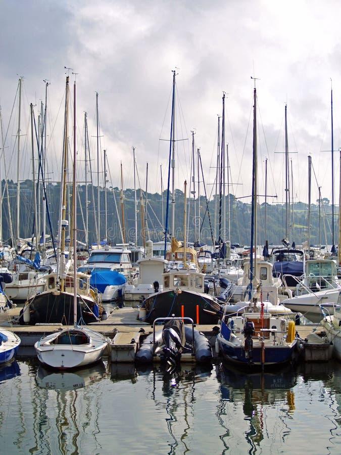Porto e barche, Irlanda fotografie stock