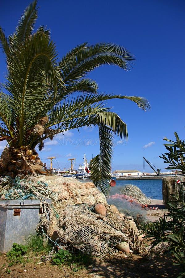 Porto egípcio imagem de stock