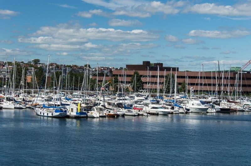 Porto em Charles River fotos de stock royalty free