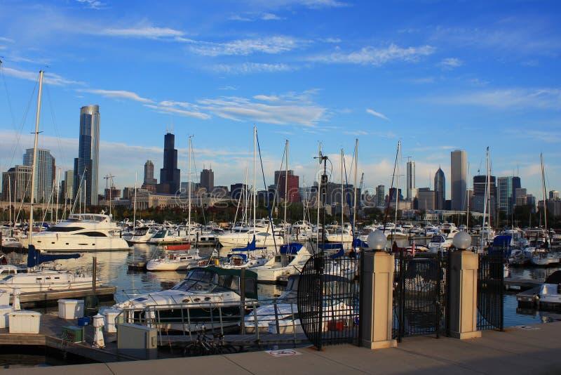 Porto em Chicago fotos de stock royalty free