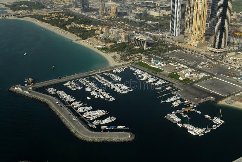 Porto em Dubai fotografia de stock