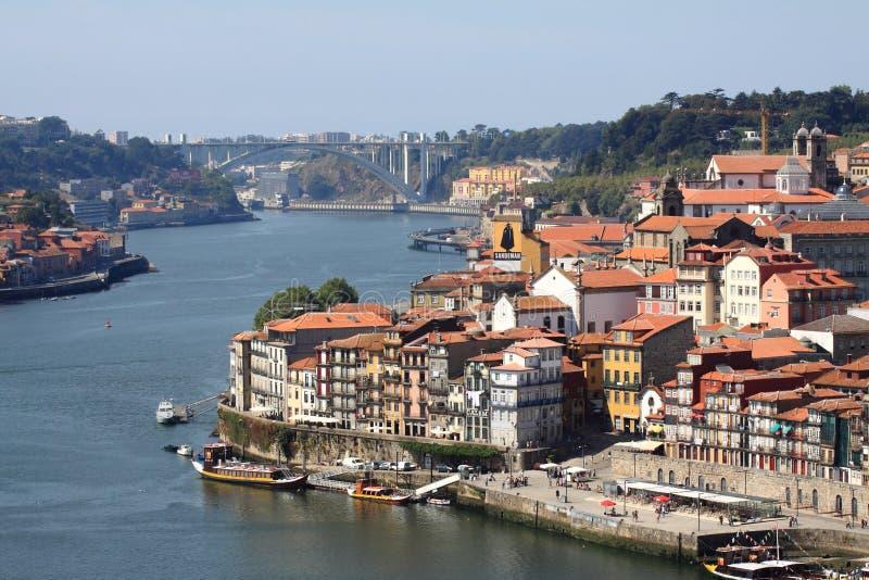 Porto em Portugal foto de stock