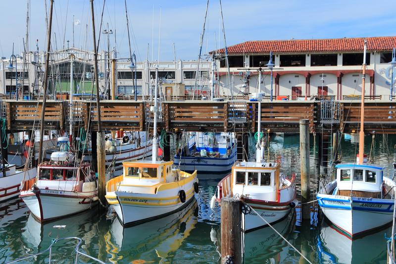 Porto em San Francisco fotos de stock