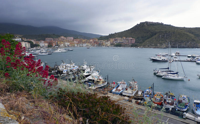 Porto Ercole, Italy royalty free stock image