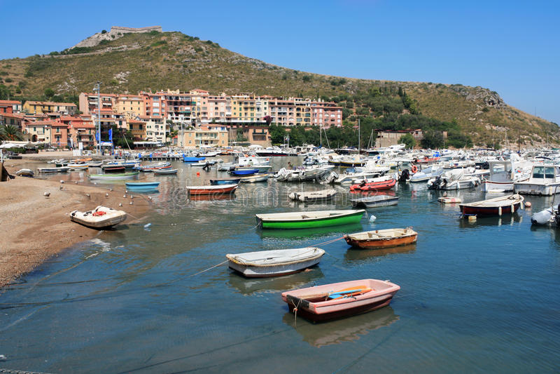 Porto Ercole Italy stock image