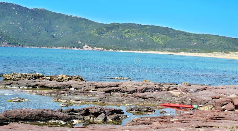 Download Porto ferro coastline stock image. Image of quiet, green - 24292989