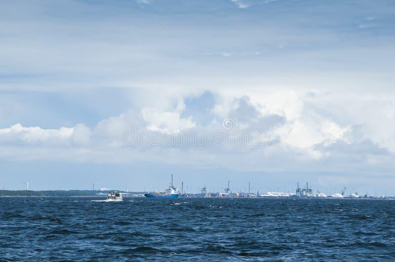 Porto Finlandia de Kotka fotografia de stock royalty free