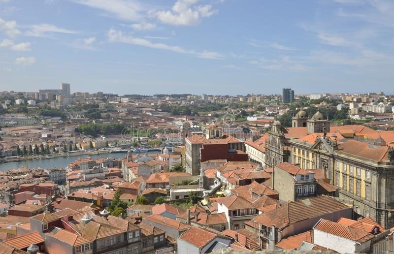 Porto and Gaia stock photo