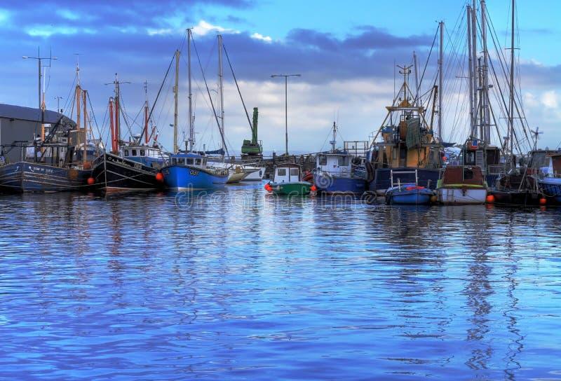 Porto in Galway immagine stock libera da diritti