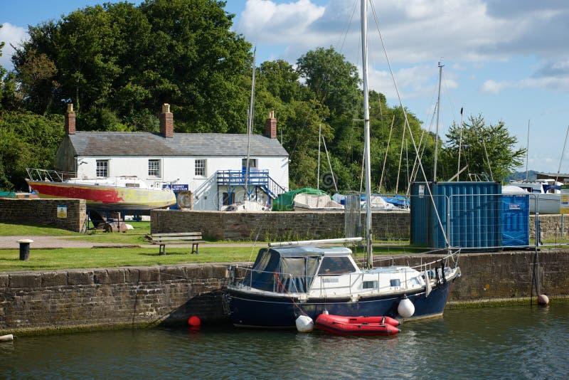 Porto Gloucestershire de Lydney fotografia de stock royalty free