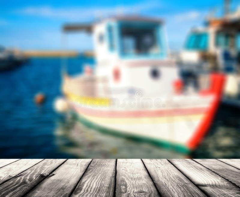 Porto in Grecia, Creta fotografie stock libere da diritti
