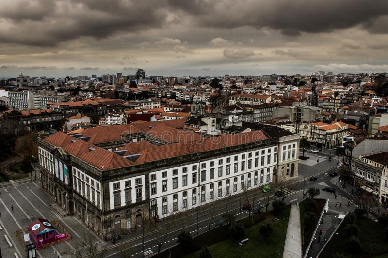 Porto Grey Cityscape 3 stock foto