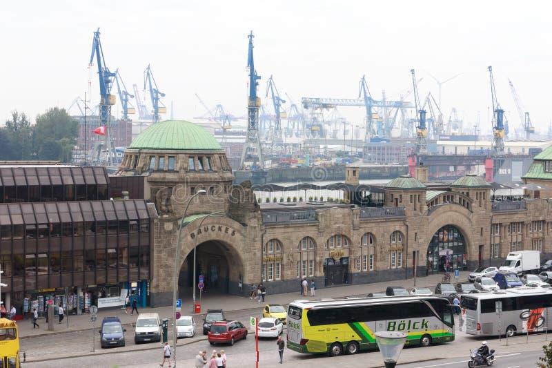 Porto Hamburgo fotos de stock royalty free