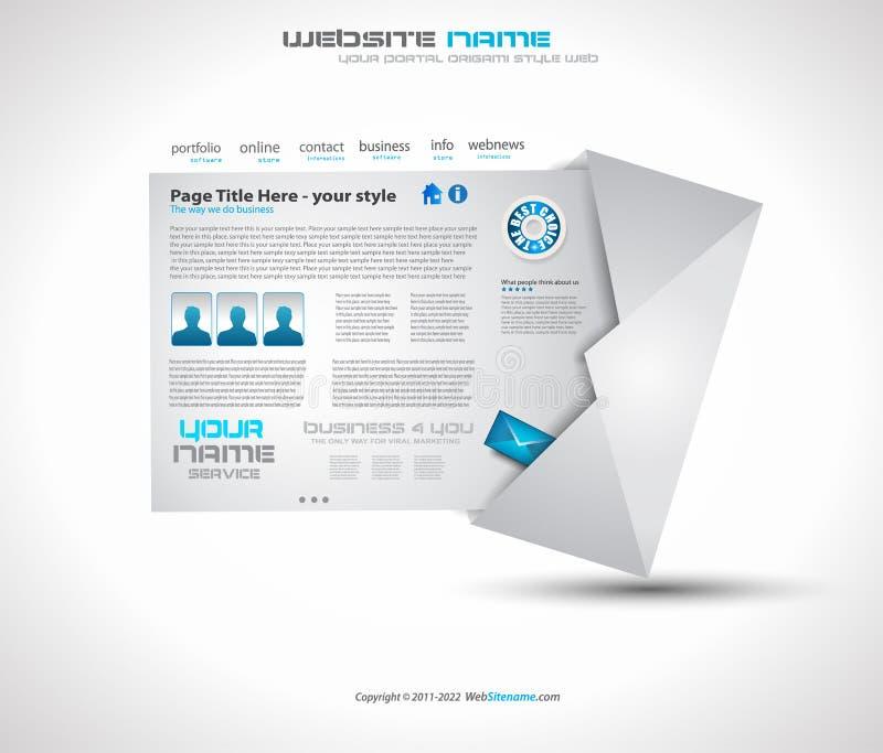 Porto-Hightech- Web site lizenzfreie abbildung