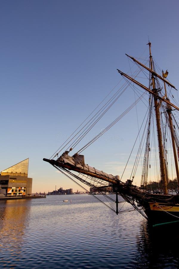 Porto interno di Baltimora fotografia stock