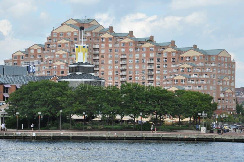 Porto interno em Baltimore, Maryland imagens de stock
