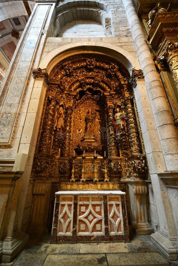 Download Porto Kathedraal, Porto, Portugal Stock Foto - Afbeelding bestaande uit bouw, glas: 39118006