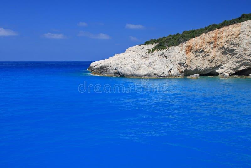 Download Porto Katsiki Beach On The Ionian Island Of Lefkas Stock Image - Image of greece, scenic: 5143405