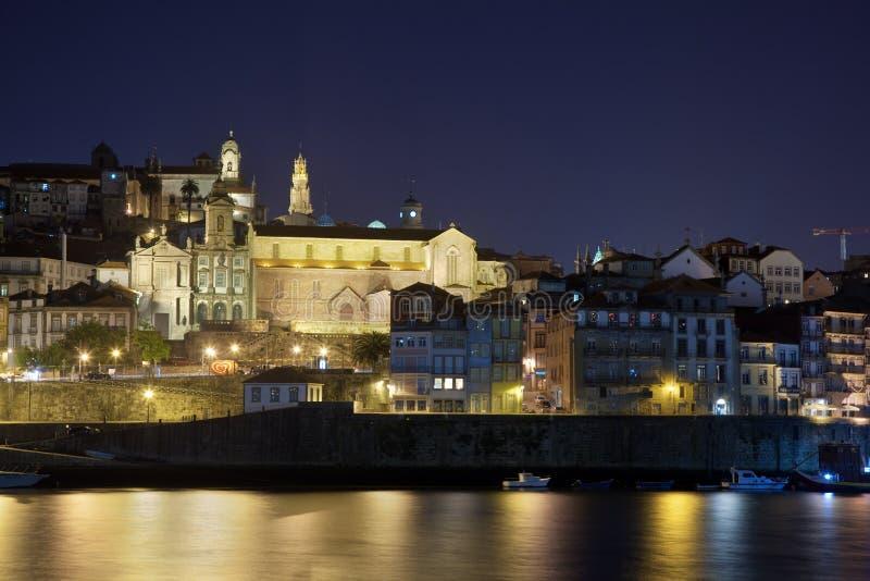 Porto la nuit image stock