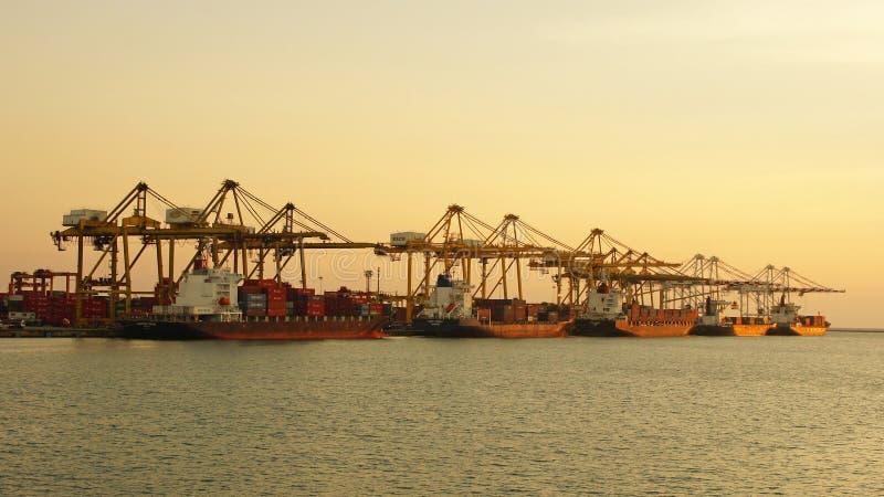 Porto Laem Chabang, Tailândia fotos de stock