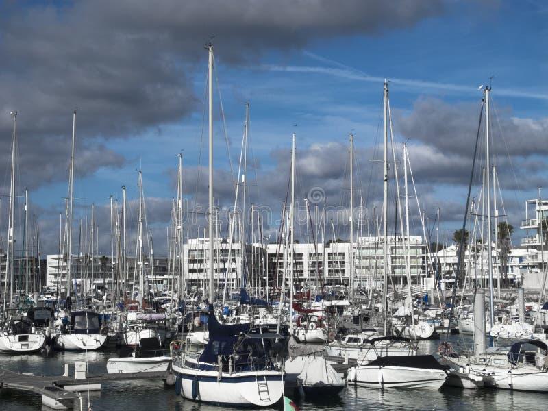 Porto a Lagos Portogallo fotografia stock