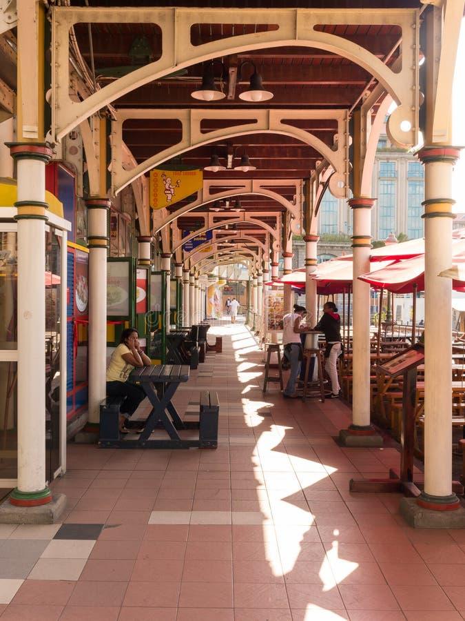 Porto Louis Mauritius della passeggiata di lungomare di Labourdonnais fotografia stock
