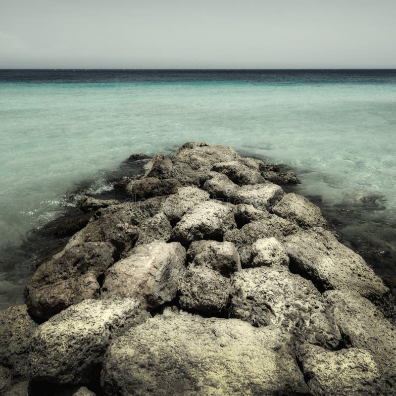 Porto Mari Curacao arkivbild