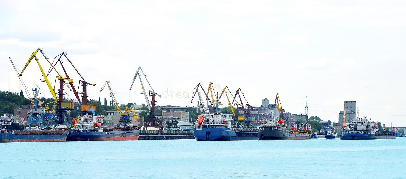 Porto marittimo fotografia stock