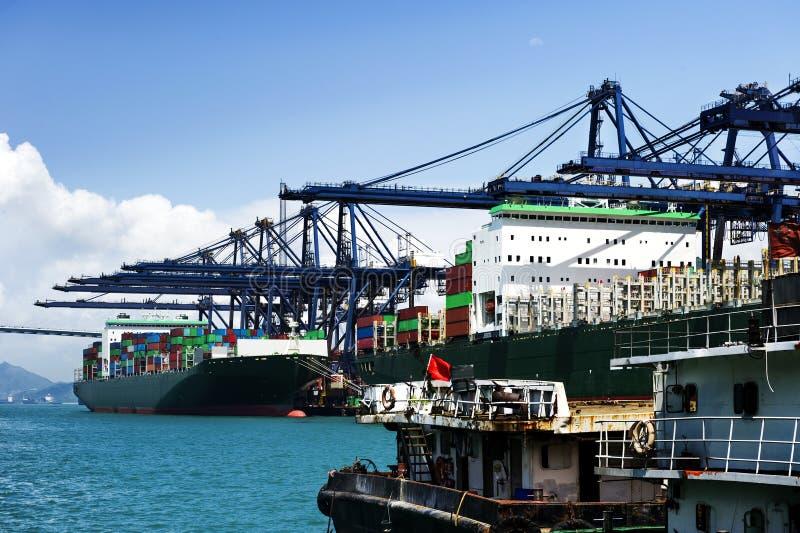 Porto marittimo fotografia stock libera da diritti