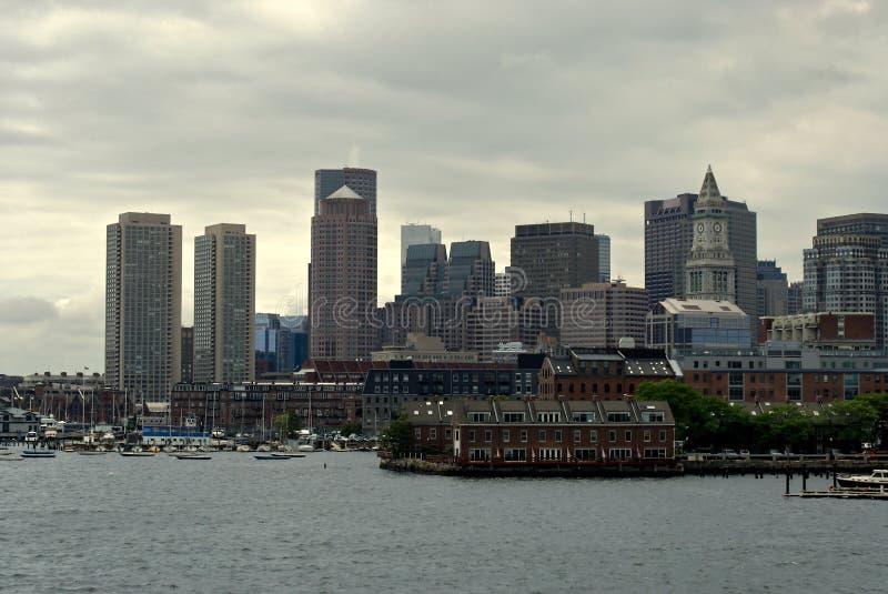 Porto marittimo del porto di Boston fotografia stock