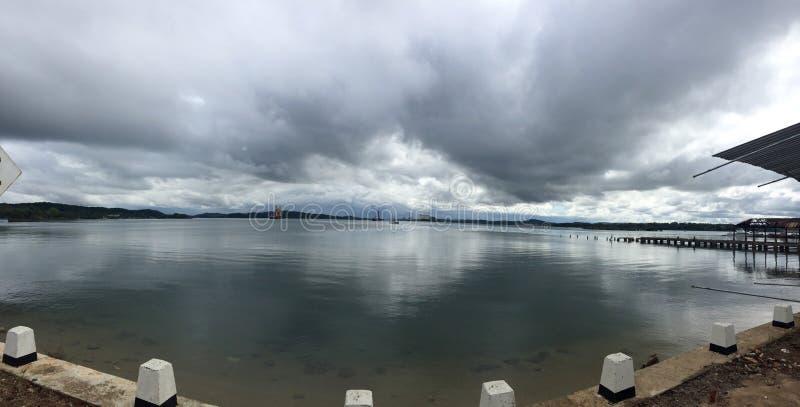 Porto marittimo di Trincomalee fotografie stock