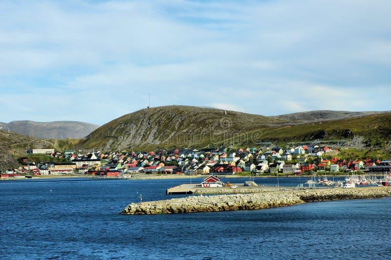 Porto marittimo norvegese immagine stock libera da diritti