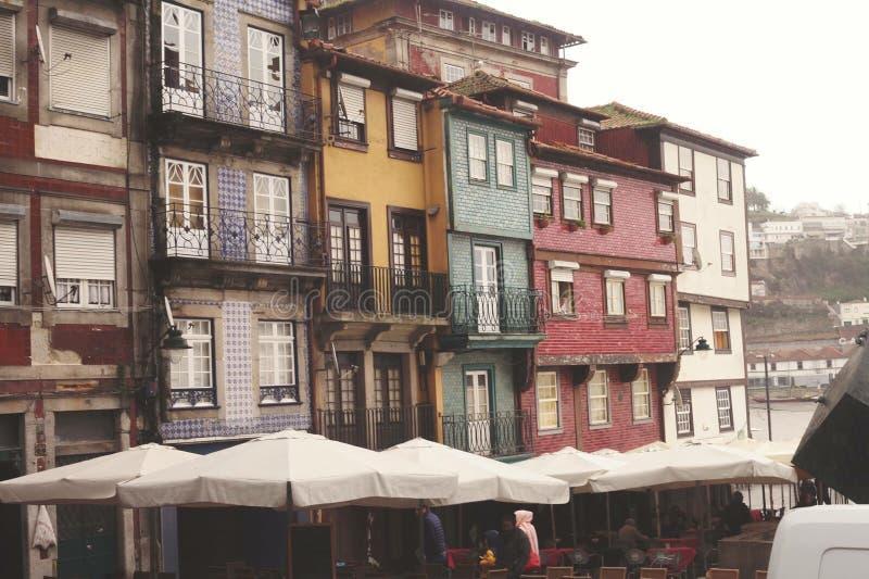 Porto mieszkania obraz stock