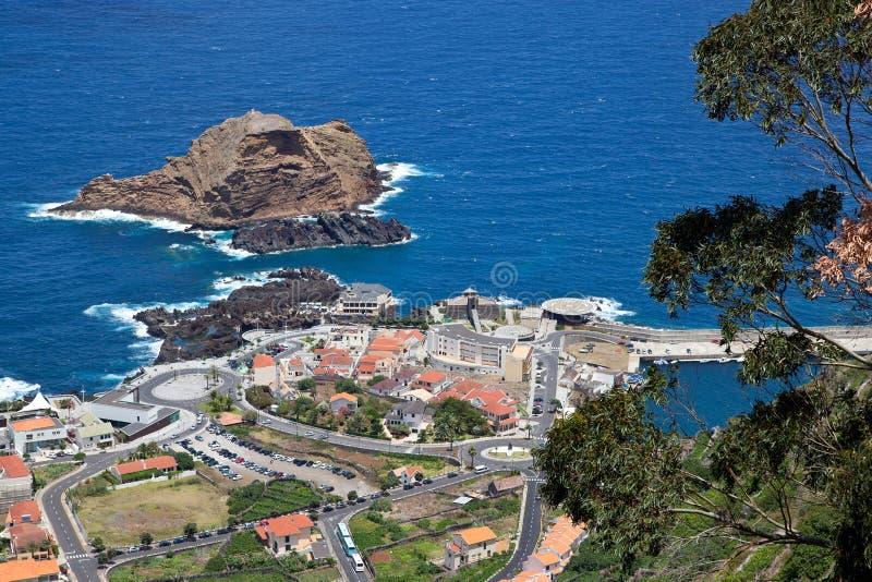 Porto Moniz - Мадейра стоковое изображение rf