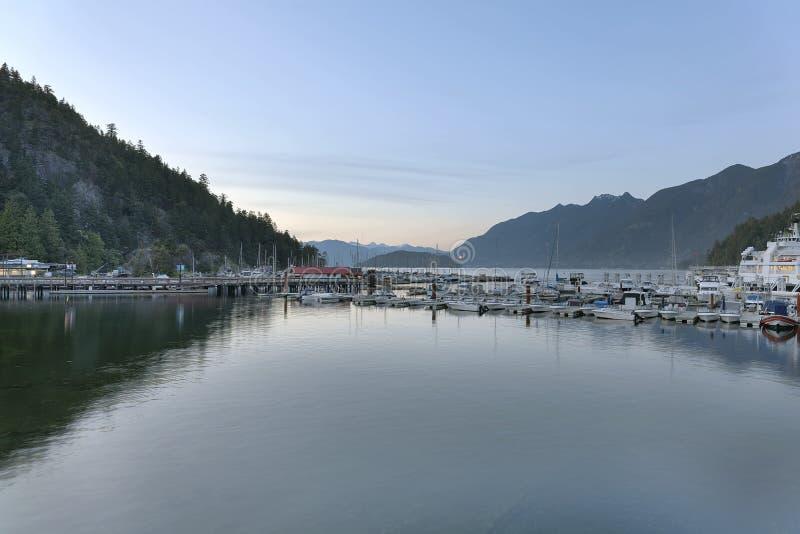 Porto na baía cênico de Horsehoe foto de stock royalty free