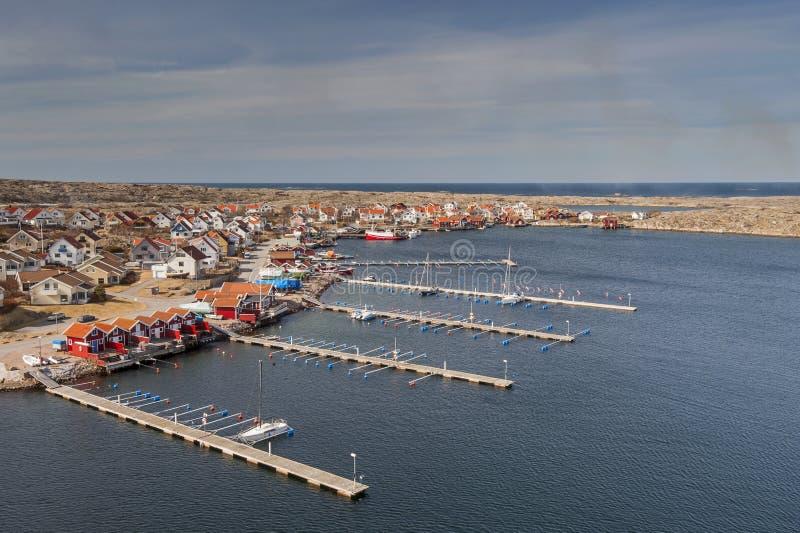 Porto na Suécia imagem de stock